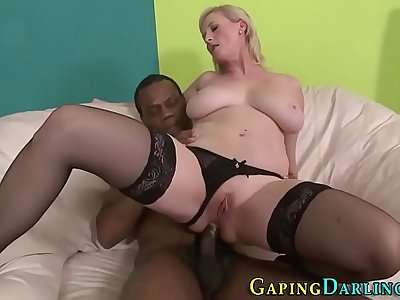 Sexy mature analized bbc