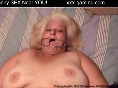 BBW Mature Woman Takes Anal By Stranger
