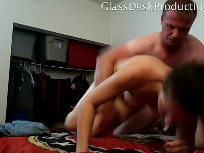 • Taboo video of Rough sex with Yavette , Homemade GlassDeskProductions