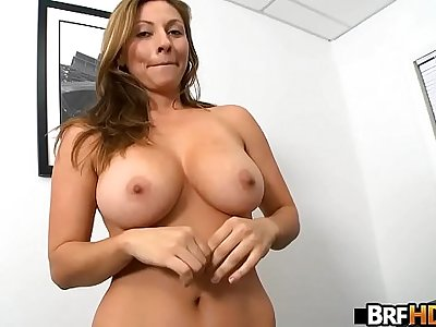 Big tits MILF latina first time facial.3
