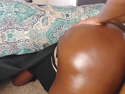BBW Step Mom Is Stuck Under The Bed