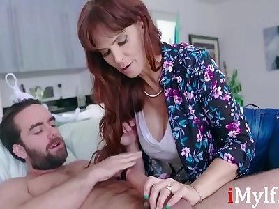 Making sure son is confident- Syren De Mer